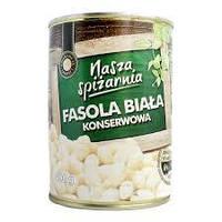 Nasza Spizarnia, белая фасоль, 400г