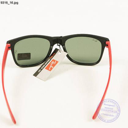 Солнцезащитные очки Ray-Ban Wayfarer унисекс со стеклянной линзой - 9316/2, фото 2