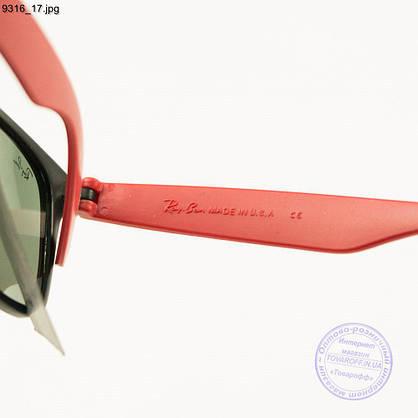 Солнцезащитные очки Ray-Ban Wayfarer унисекс со стеклянной линзой - 9316/2, фото 3