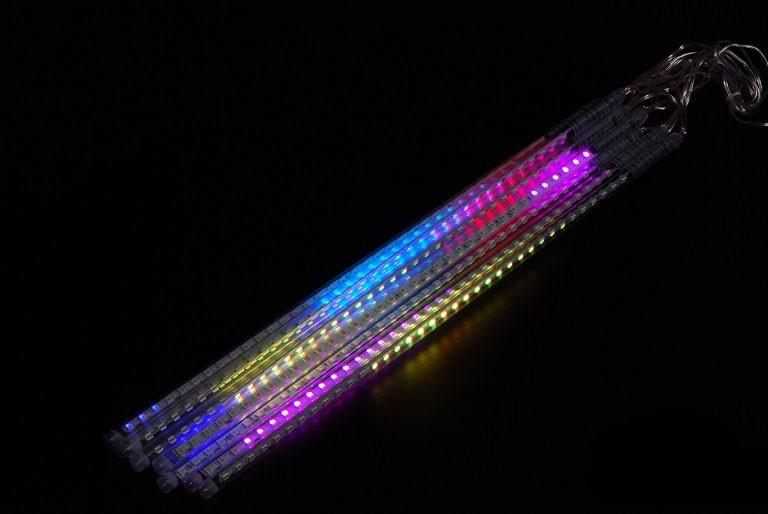 Светодиодная гирлянда Падающая капля (тающая сосулька), RGB, 0,5 м