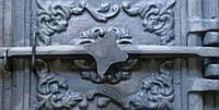 Дверка печная чугунное литье