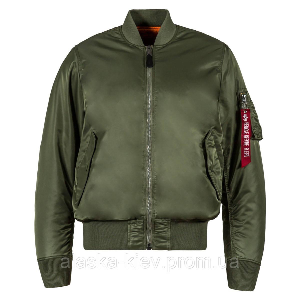 Классический бомбер. Демисезонная куртка бомбер MA-1 (sage green ... 98b76884255a4