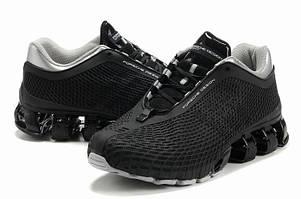 Кроссовки Adidas Porsche Design мужские черные с серым