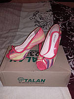 Туфли с открытыми пальчиками Basconi, фото 1