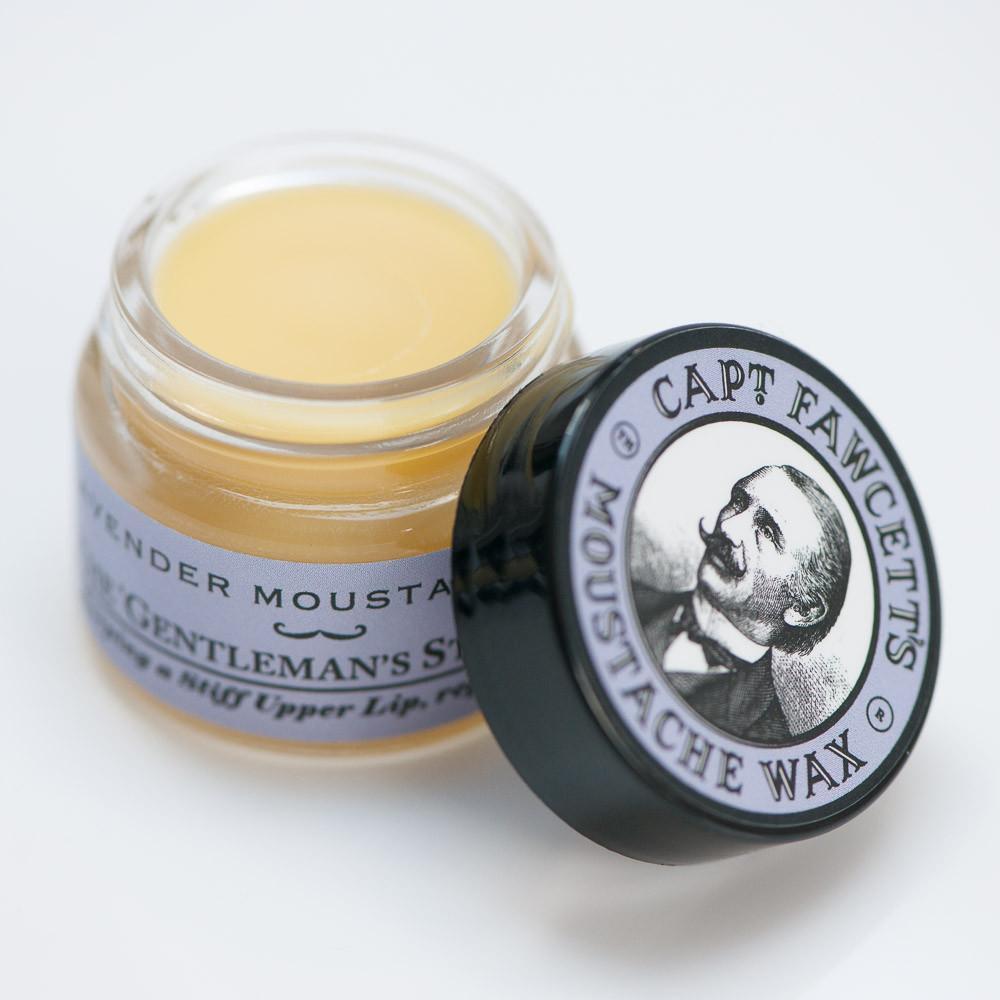 Воск для усов Captain Fawcett Moustache Wax Lavender 15 ml