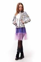 Модная подростковая куртка-косуха