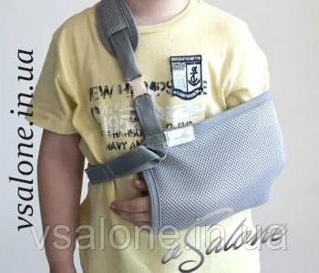 Бандаж поддерживатель руки (косынка) детский Алком 3004К  размеры 1,2