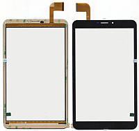 Тачскрин (сенсор) №051.1 Bravis NB 85 3G, FPCA-80A15-V01 204*120 черный