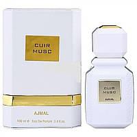 Східна парфумерія для чоловіків Ajmal Cuir Musc 100ml, фото 1