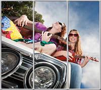 Шкаф купе 3д  с фотопечатью для комнаты подростка