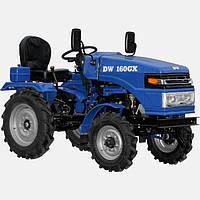 Трактор DW 160GX  (16 л.с., 1 цил., (КПП 3+1)х2, эл. старт., колеса 5,00-12/6,5-16, рем. привод, гидравлика)