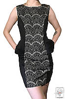 Женское коктейльное платье AX Paris черное р. S 42