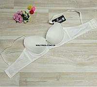 Бюстгальтер пуш-ап гладкий 75,80,85В FNISS арт 9283 белый.