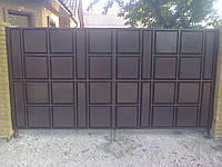 Ворота филенчатые под заказ