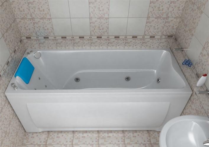 Акриловая ванна Triton Берта, 1700х700х680 мм