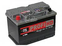 Аккумулятор 6СТ- 75Аз Profi HD, фото 1