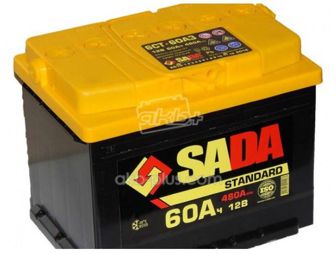 Аккумулятор 6СТ- 60Аз STD