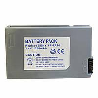 Аккумулятор Sony NP-FA70, Li-ion, 1250 mAh
