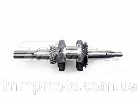 Коленвал 168F (конус L=20mm) Артикул: K-5252, фото 2