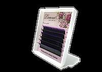 Ресницы С Цветными Кончиками (Фиолетовые) 6 Линий