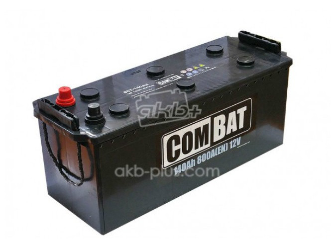 Аккумулятор 6СТ- 140Аз COMBAT