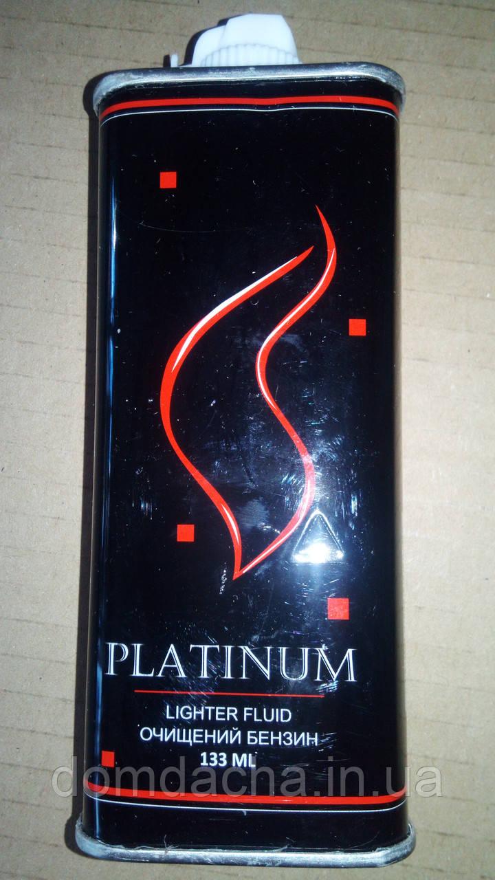 Бензин для заправки запальничок. Англія Platinum 125 ml ZA777
