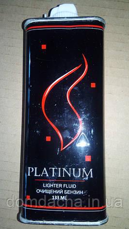 Бензин для заправки запальничок. Англія Platinum 125 ml ZA777, фото 2