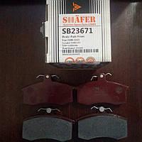 Передние тормозные колодки на Лада 2108-2112, Приора, Калина,