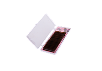 Ресницы Lamour темно-коричневые (7-12 мм / 10-14 мм))