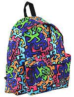 """Рюкзак подростковый ST-17 Crazy maze, """"YES"""", 555004, фото 1"""