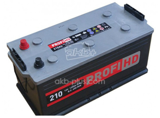 Аккумулятор  6СТ- 210Аз Profi