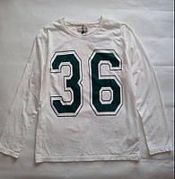 Реглан для мальчика 11-12 лет, футболка спортивная с длинным рукавом размер 152 ТМ Zara сток 3876/772/250/12