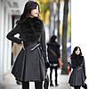 Пальто юбка-солнце