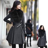 Пальто юбка-солнце, фото 1