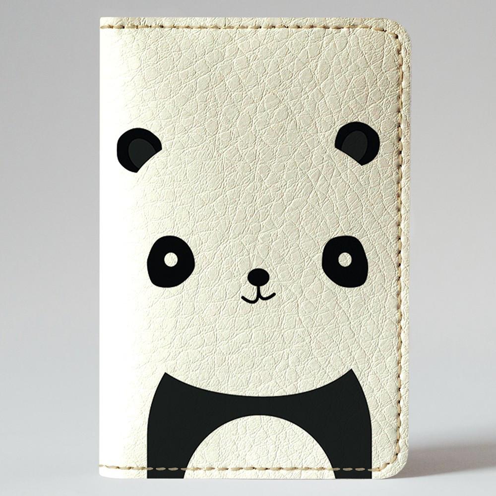Обложка на автодокументы Fisher Gifts v.1.0. 152 Милая панда (эко-кожа)