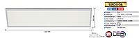 Светильник DOWNLIGHTS LED Horoz Electric, 36W,3000K, 4200К, 6000К, белый, LINDA-36