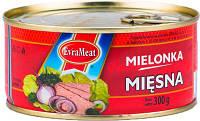 Паштет Mielonka Miesna 300г курка + свинина EvraMeat ключ ж/б (1/12)