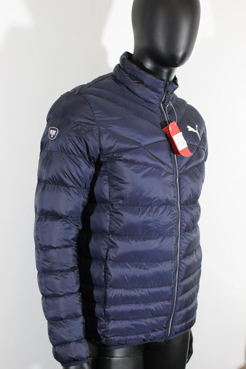 Куртки демисезонные PUMA синий цвет - Интернет-магазин