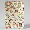 Обложка на автодокументы 1.0 Fisher Gifts 188 Совушки с цветами фон (эко-кожа), фото 5