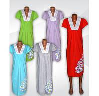 Новинка! Серия трикотажных ночных рубашек Эвелина с кружевом - классика для Вас!