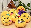 Декоративные подушки Смайл Улыбка Emoji 30 см. Подушка смайлик