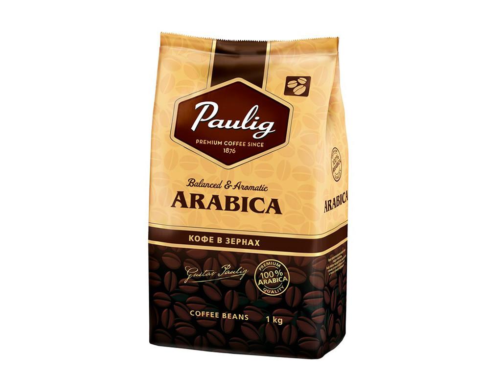 Зерновой кофе Paulig Arabica 1 кг