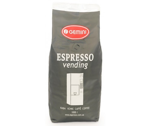 Зерновой кофе Gemini Espresso Vending 1000г