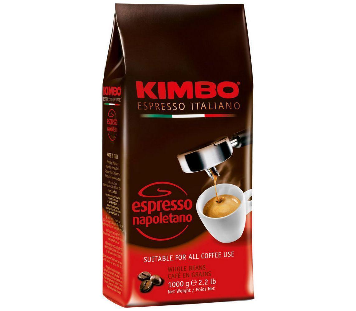 Кофе в зернах Kimbo Espresso Napoletano 1000г