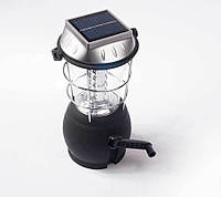 Переносной фонарь на солнечных батареях 2860/ CN-L982, динамо лампа