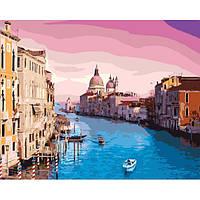 """Набор для рисования """"Утро в Венеции"""" 40х50см, Без Коробки"""