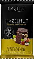Чорний шоколад з фундуком Сachet, 300 г