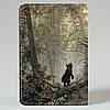 Обкладинка на автодокументи v.1.0. Fisher Gifts 306 Ранок у сосновому лісі. Шишкін (еко-шкіра), фото 5