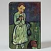 Обложка на автодокументы Fisher Gifts v.1.0. 326 Ребенок с голубем. Пабло Пикассо (эко-кожа), фото 5