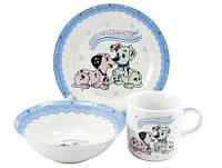Детский набор посуды Далматинцы 485